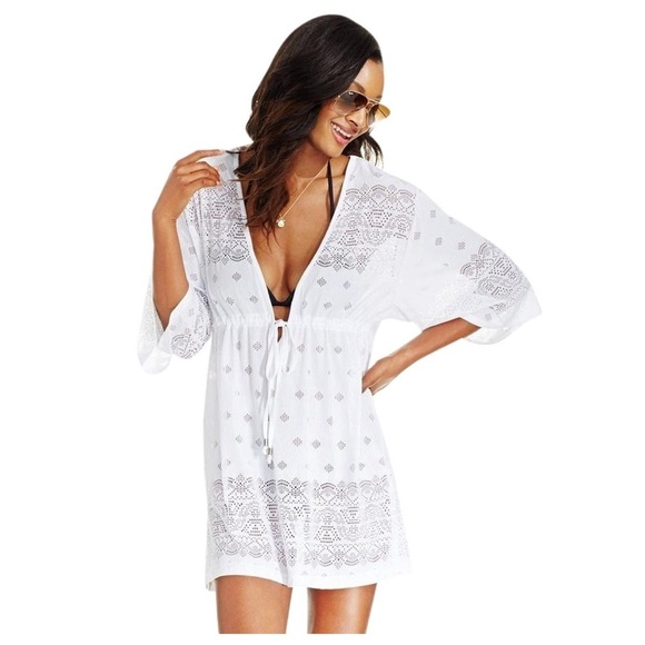 Dotti Swim Suit Cover Up Kimono Poshmark